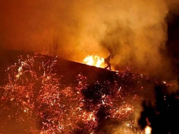 Пожары в США: дым достиг Европы