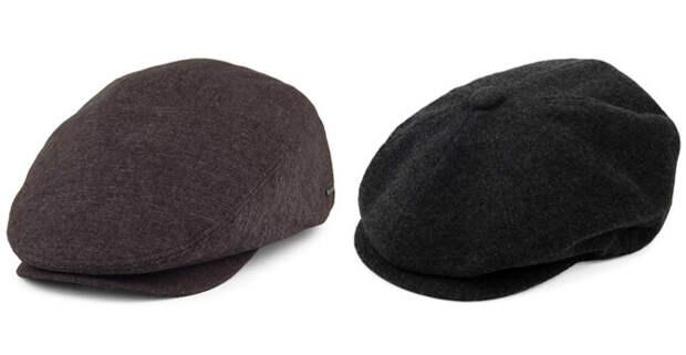 Простая плоская кепка и восьмиклинка. Фото:Garrison Tailors