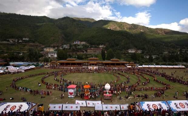 Свадьба короля Бутана