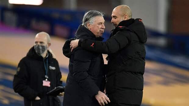 Анчелотти: «Манчестер Сити» — лучшая команда в мире на данный момент»