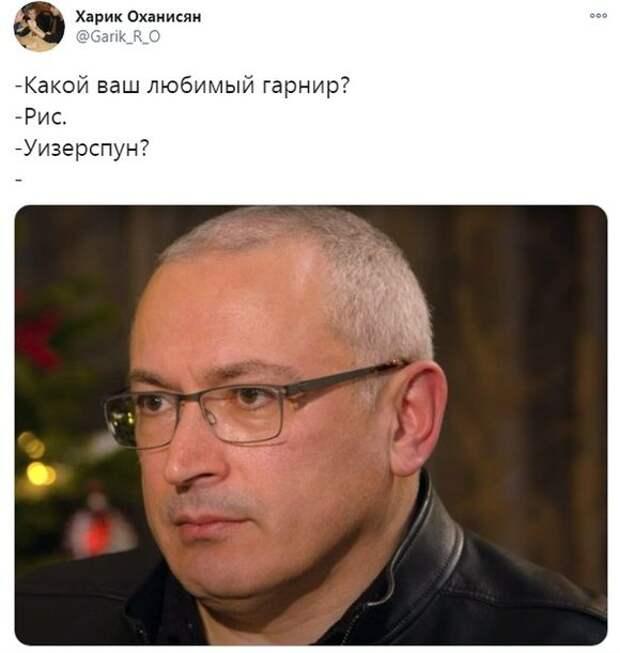 Украинский журналист Гордон пошутил винтервью сХодорковским исоздал новый мем