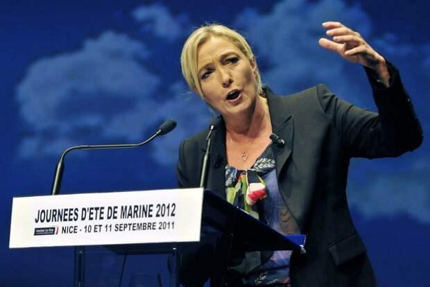 Марин Ле Пен призвала Францию к стратегическим отношениям с Россией