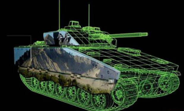 Новый инфракрасный камуфляж делает танки невидимыми