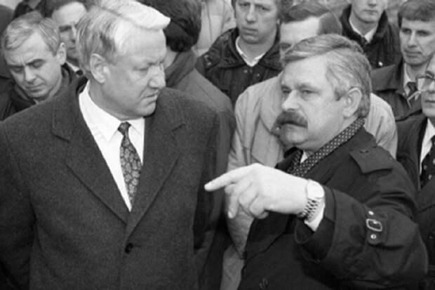 В августе 1991 года Ельцин пытался бежать в посольство США