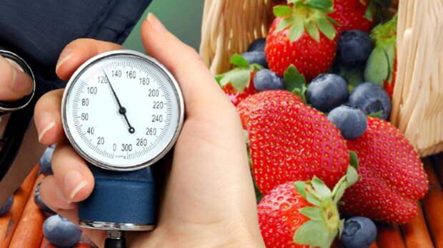 Фрукты и ягоды, снижающие кровяное давление, назвали врачи