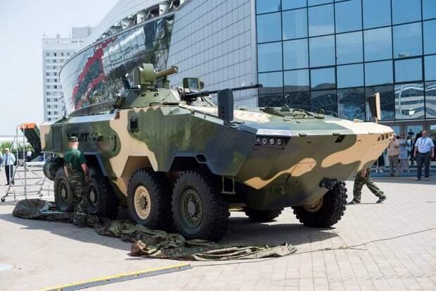 Белорусы представили замену советским БТР. Бронетранспортёр Volat V2
