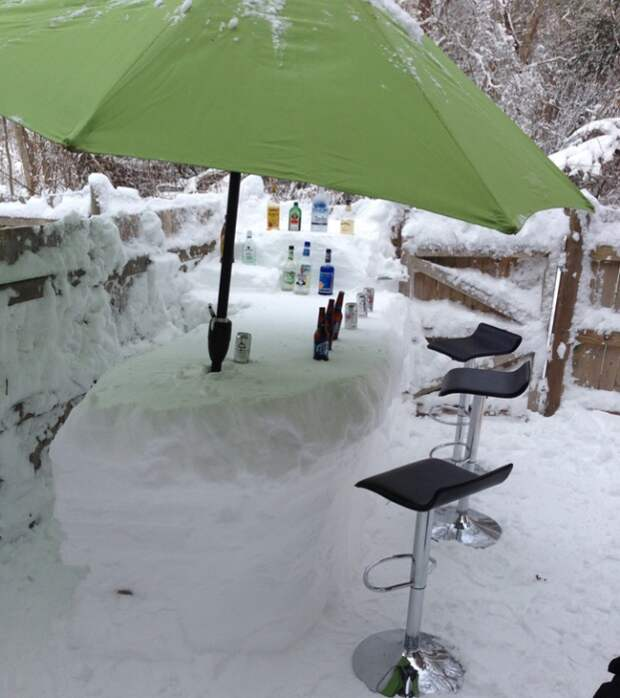 мебель снежная