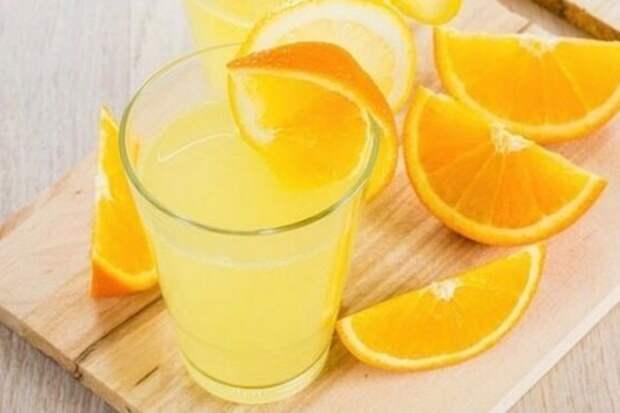 Фанта домашняя из апельсиновых корок