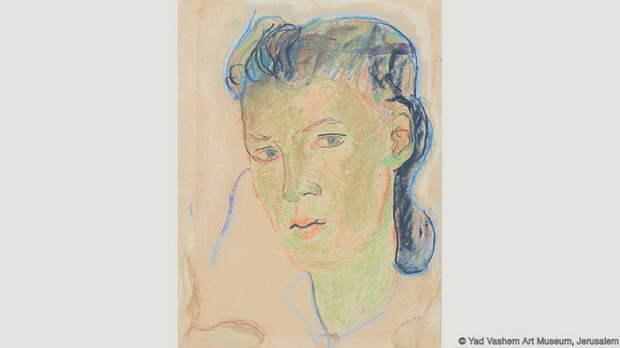 Шарлота Саломон, автопортрет, 1939-41