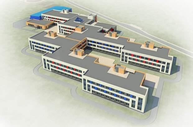 Самую большую в Приангарье школу начнут строить этим летом в микрорайоне Березовый в Маркова