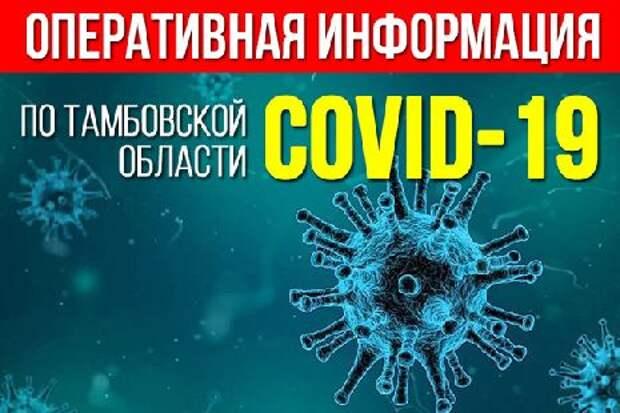 В Тамбовской области наблюдается спад заболеваемости коронавирусом