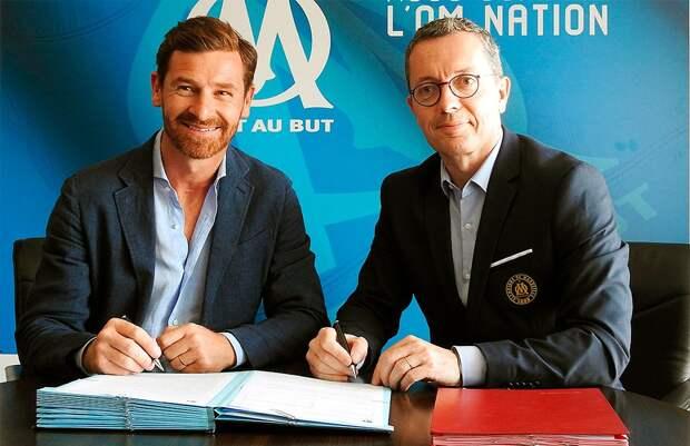 Виллаш-Боаш официально возглавил «Марсель»