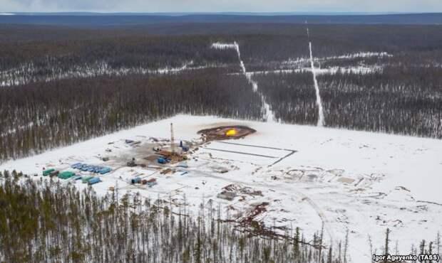 """Строительство магистрального газопровода """"Сила Сибири"""""""