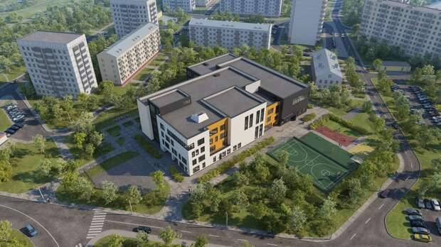 Возобновлено строительство школы на улице Цандера