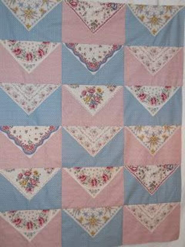 лоскутное одеяло квилт из платков
