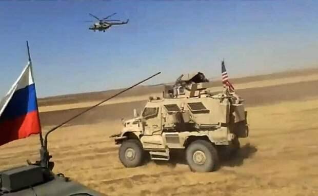 Минобороны прокомментировало инцидент с американской колонной в Сирии