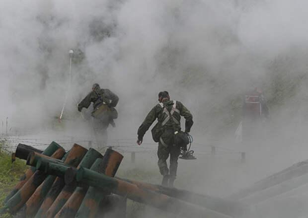 Разведчики общевойсковой армии ЗВО отработали освобождение «заложника» и захват документов в Белгородской области