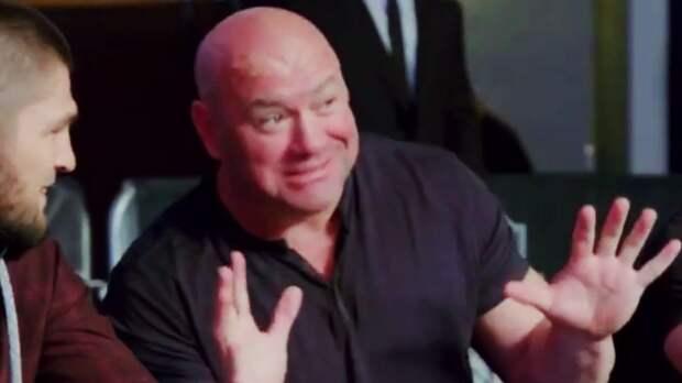 В сети появилось видео, как глава UFC Уайт уговаривает Хабиба возобновить карьеру