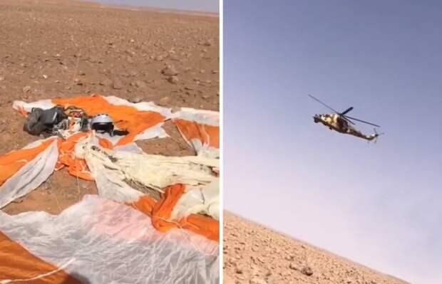 В Сети обсуждают видео со сбитым в Ливии русскоговорящим летчиком МиГ-29