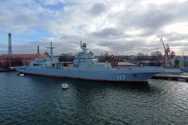 ВМФ России получил новый боевой корабль для десантной операции
