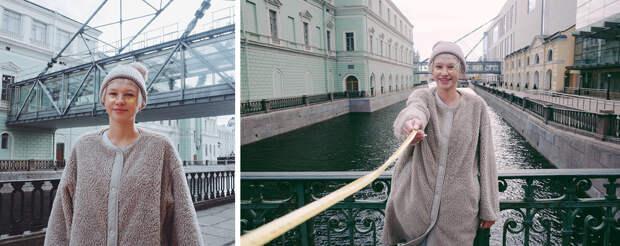 Фотограф снимает людей на «социальной дистанции» (ФОТО)