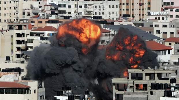 В Израиле рассказали о нанесении ударов по объектам ХАМАС