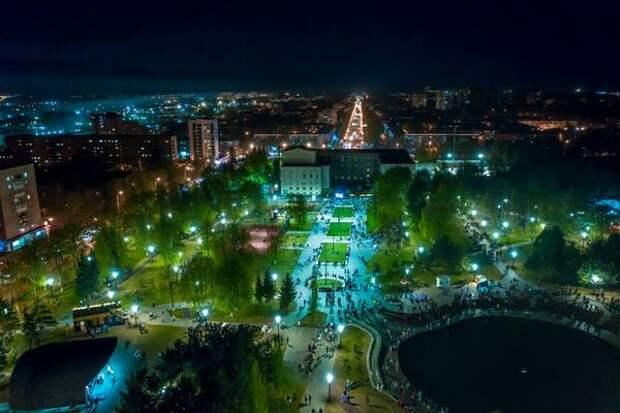 В парке культуры и отдыха «Первомайский» заработал Wi-Fi