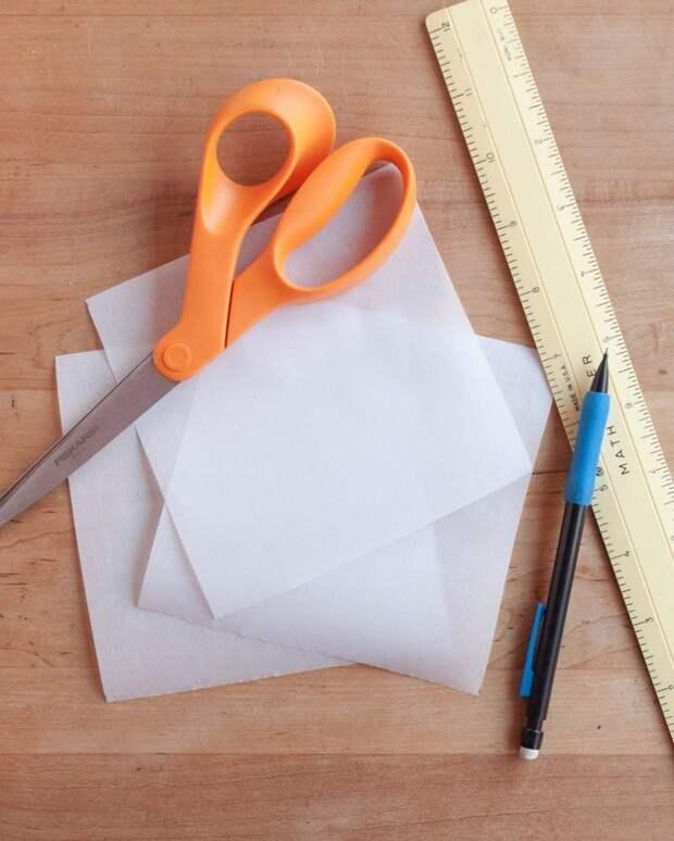 Как сделать формочки для маффинов из пергаментной бумаги