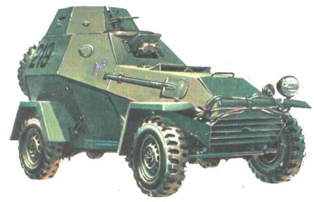 БА-64 — первый советский полноценный бронеавтомобиль