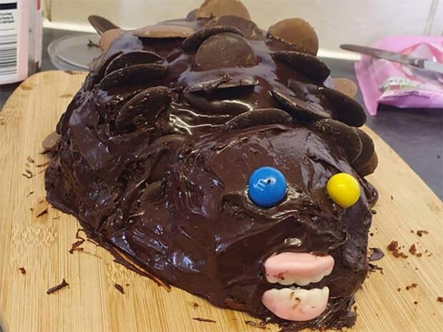 Это провал! 10+ смешных тортов-ежей, которые не получились