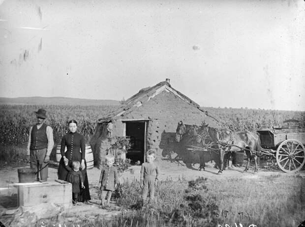 Как поднималась американская целина. Архивные фотографии пионеров Великих равнин конца 19-го века 1