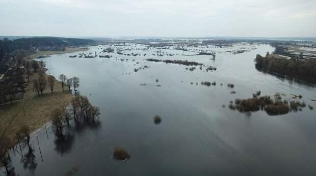 В Черниговской области половодье Десны оставило села без переправы