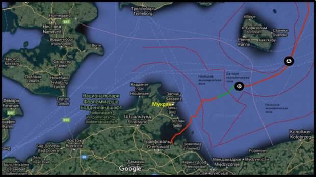 «Академик Черский» вернулся на«Северный поток— 2» после шторма
