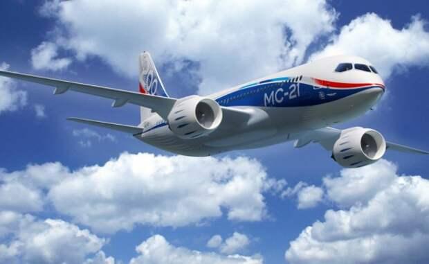 Рогозин: Портфель твердых заказов на МС-21 составляет 175 самолетов, в том числе от таких серьезных компаний, как  Люфтганза