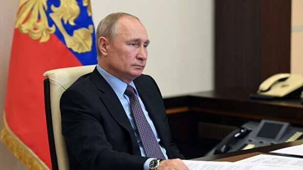 Путин анонсировал корректировки в нацпроекты, в том числе по культуре