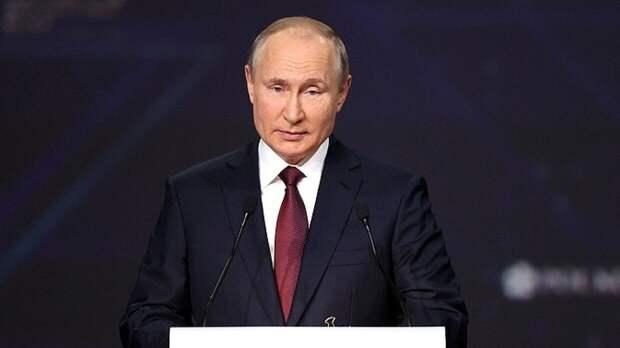 Владимир Путин высказался об угрозах блокировки российских госсайтов