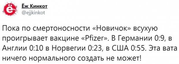 Новичок / Pfizer