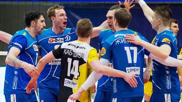 Московское «Динамо» обыграло «Газпром-Югру» и стало победителем регулярного чемпионата мужской Суперлиги