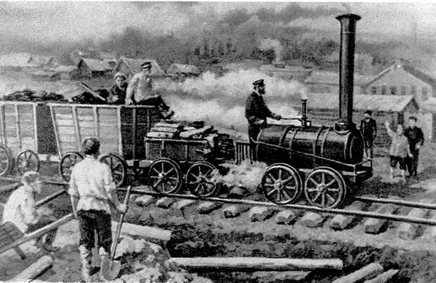 Паровозная история механиков Черепановых