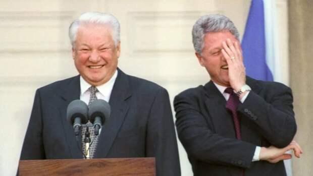 На протяжении своего президентства, Билл Клинтон не видел в России большой угрозы, а над Ельциным смеялся. Такое тоже не покажут в Ельцин-центре.