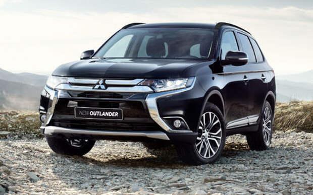 Mitsubishi Outlander стал доступнее благодаря двум новым комплектациям