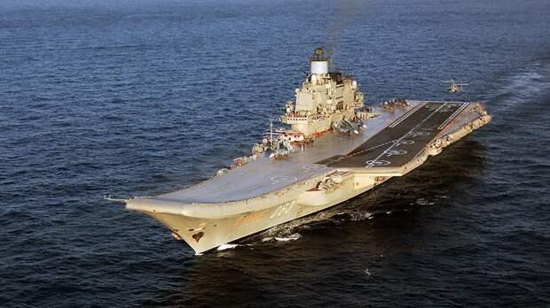 Российский флот могут укрепить тремя авианосцами