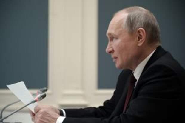 Путин наградил российских спортсменов, завоевавших медали на ОИ в Токио