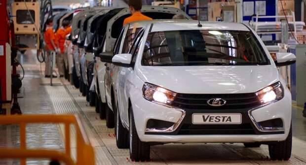 АвтоВАЗ в 1-ом квартале увеличил производство на 13%