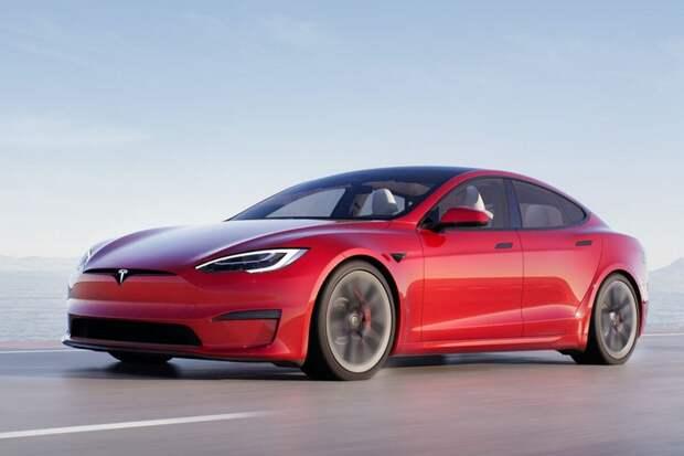 Tesla Илона Маска представила самый быстрый электромобиль в мире