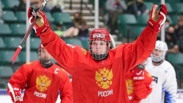 Мирошниченко - лучший игрок встречи Россия - Финляндия