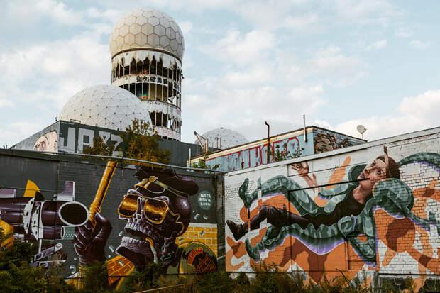 9 эпичных фото дьявольской горы Тойфельсберг в Берлине