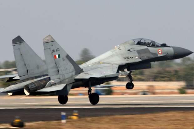 ВВС Индии на 80 процентов укомплектованы российской авиатехникой