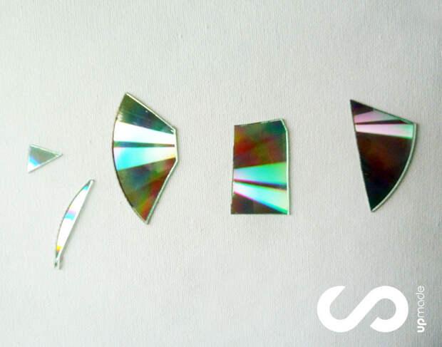 Главные секреты и хитрости при декор из компакт-дисков