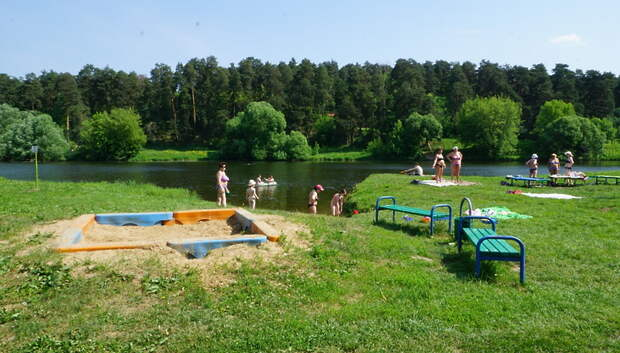 Вода в водоемах и реках Московского региона прогреется выше 20 градусов